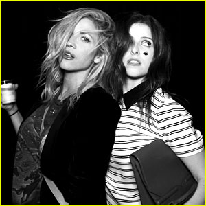Anna Kendrick & Brittany Snow Reunite for Some Creepy Fun!