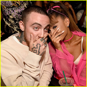 Ariana Grande & Mac Miller Confirm Their Relationship with Cute Instagram Pic!