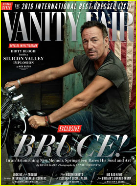 Bruce Springsteen Opens Up About Suffering From Depression in 'Vanity Fair' October 2016 Cover Story