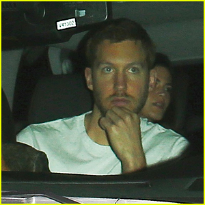 Calvin Harris Supports Drake & Rihanna At Staples Center Concert!