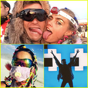 Scott Eastwood, Katy Perry & More Share Selfies from Burning Man!