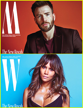Chris Evans, Halle Berry, & 9 More Stars Cover 'W Magazine' Fashion Issue