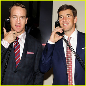 Eli & Peyton Manning Join Other Celebs at 9/11 Charity Day