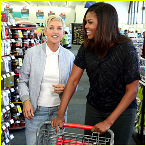 Ellen DeGeneres Takes Michelle Obama Shopping at CVS in Hilarious Video!