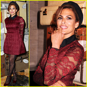Eva Mendes Debuts Her New Salon New York & Company Collection - Watch Now!