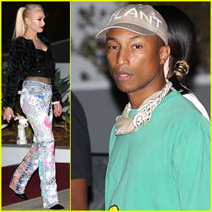 Gwen Stefani & Pharrell Williams Hit Up Drake's Concert!