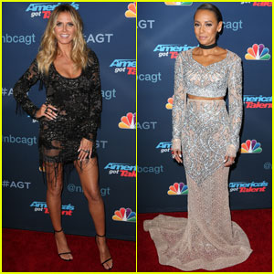 Heidi Klum & Mel B Go Glam for 'America's Got Talent' Finale