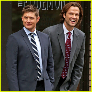Jensen Ackles & Jared Padalecki Get to Work on 'Supernatural' Season 12!