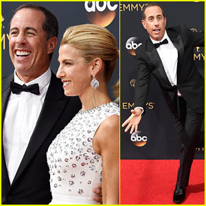 Jerry Seinfeld Arrives at the Emmys for the First Time in 19 Years!