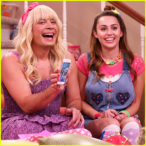 Jimmy Fallon Brings Back 'Ew!' Sketch with Miley Cyrus! (Video)