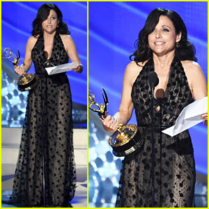 Julia Louis-Dreyfus Wins Lead Actress in a Comedy at Emmys 2016!