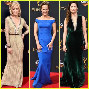 Judith Light & 'Transparent' Cast Arrive at Emmy Awards 2016