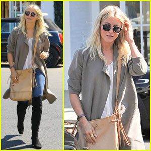 Julianne Hough Enjoys Her Afternoon Shopping