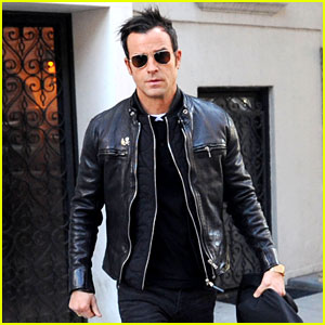 Justin Theroux Is Getting Ready for 'Girl on the Train' Press!