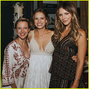 Katharine McPhee Supports Bethany Joy Lenz at Her Jewelry Collection Launch