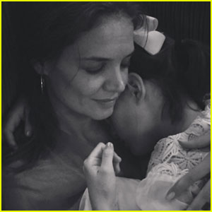 Katie Holmes Shares Sweet Snaps With Sleeping Suri