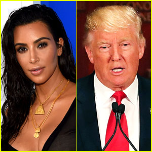 Is Kim Kardashian Considering Voting for Donald Trump?