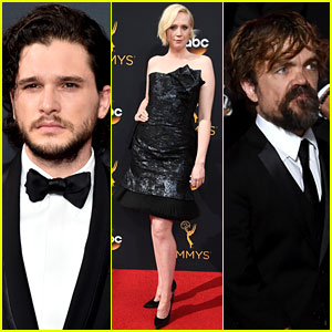 Kit Harington, Gwendoline Christie & Peter Dinklage Support 'Game of Thrones' at Emmys 2016!