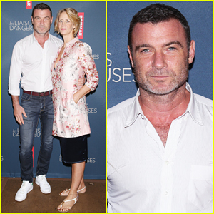Liev Schreiber & 'Les Liaisons Dangereuses' Broadway Co-Stars Meet the Press!