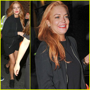 Lindsay Lohan Set to Appear on Jamie Oliver's Cooking Show