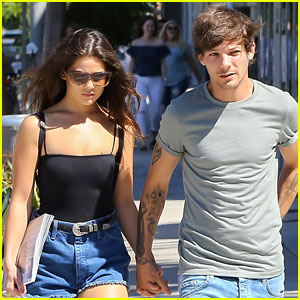 Louis Tomlinson & Danielle Campbell Hold Hands in WeHo