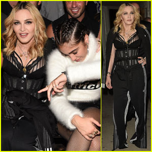 Madonna & Daughter Lourdes Sit Front Row for Star-Studded Alexander Wang Fashion Show