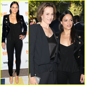 Michelle Rodriguez & Sigourney Weaver Defend Their Controversial Film '(re)Assignment' At TIFF 2016!