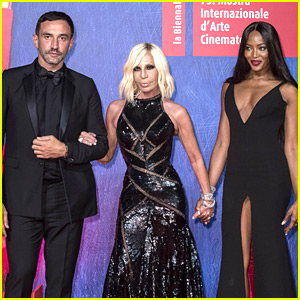 Naomi Campbell Joins Fashion Elite at Venice Film Festival