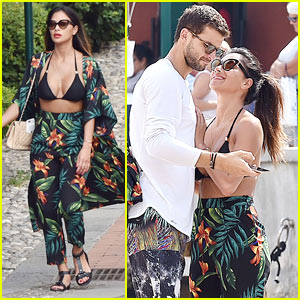 Nicole Scherzinger & Boyfriend Grigor Dimitrov Enjoy Romantic Vacation in Italy!