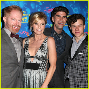 Nolan Gould & Julie Bowen Honor Jesse Tyler Ferguson at Los Angeles LGBT Center Anniversary Gala 2016