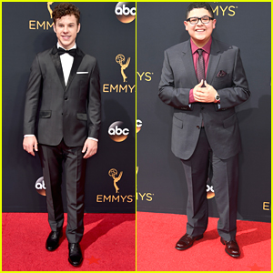 Nolan Gould Hits Emmys 2016 Red Carpet with 'Modern Family' Cast