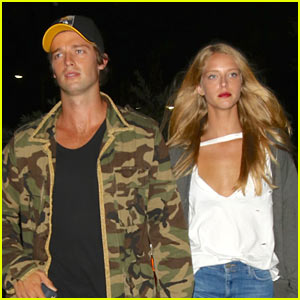Patrick Schwarzenegger & Abby Champion Spend the Night at the Fair!