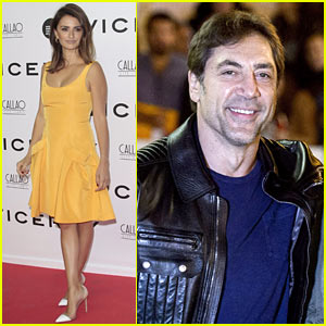 Penelope Cruz & Javier Bardem Step Out Separately to Celebrate Film in Spain!