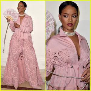 Rihanna Brings Her 'Fenty x Puma' Line to the Paris Runway