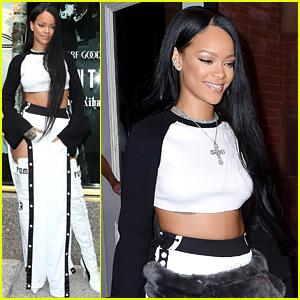 Rihanna Launches New Fenty Puma Collection at Bergdorf Goodman