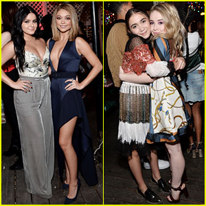 Ariel Winter & Sarah Hyland Take a 'Modern Family' Break to Celebrate Young Hollywood