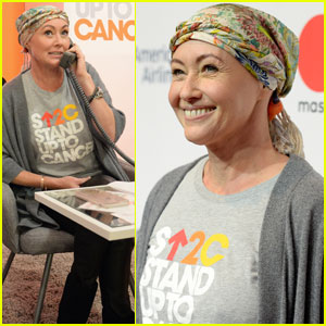 Shannen Doherty Stands Up to Cancer Amid Her Battle With the Disease