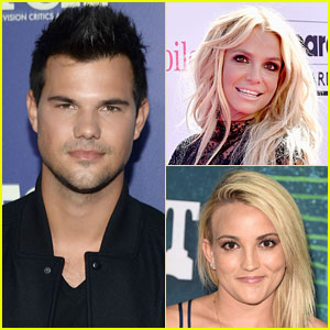 Taylor Lautner Admits Britney Spears Tried to Set Him Up with Sister Jamie Lynn!