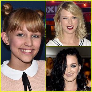 Taylor Swift, Katy Perry, & More Celebs Congratulate Grace VanderWaal on 'AGT' Win!