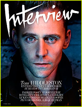 Tom Hiddleston Wears Leather, Jumpsuits, & More for Sexy 'Interview' Magazine Cover Shoot