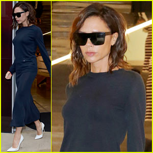 Victoria Beckham Dances Around Times Square in Son Brooklyn's Video!