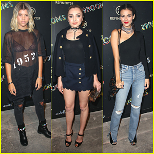 Sofia Richie & Victoria Justice Check Out Refinery29's '29Rooms' NYFW Event