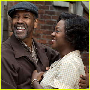 Denzel Washington & Viola Davis Star in 'Fences' - First Look Photos!