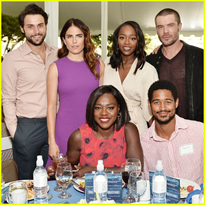 Viola Davis Gets Support From 'HTGAWM' Cast At The Rape Foundation's 2016 Brunch!