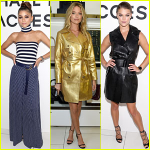 Zendaya, Martha Hunt & Nina Agdal Celebrate with Michael Kors