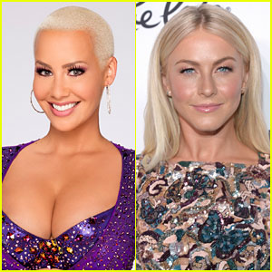 Amber Rose & Julianne Hough Clear Up 'DWTS' Body Shame Comments