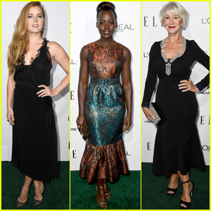 Amy Adams, Lupita Nyong'o & Helen Mirren Celebrate Their Honor at 'Elle' Women In Hollywood Awards