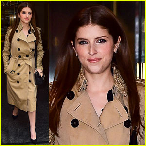 Anna Kendrick Reveals the Song She's Singing to Make Her Happy