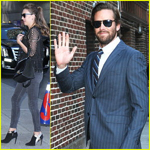 Armie Hammer Ate NYC Street Meat & Lived To Tell The Tale!