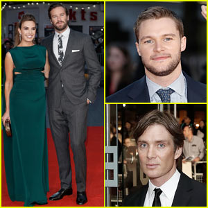 Armie Hammer, Jack Reynor, & Cillian Murphy Premiere 'Free Fire' at Attend BFI London Film Festival
